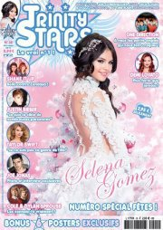 "selena en couverture du magasine 'trinity stars"" !!!!"