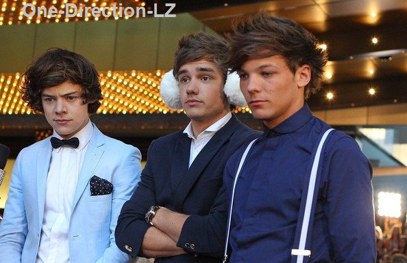 One-Direction-LZ ( Aux Logies Awards )