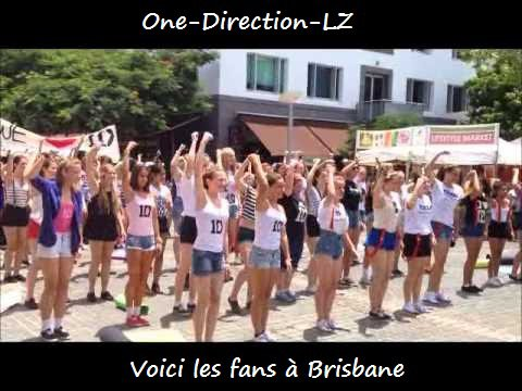 One-Direction-LZ ( A Brisbane, en Australie )