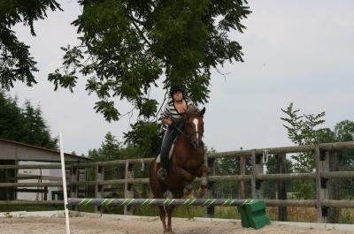 clem et kelly (le cheval)