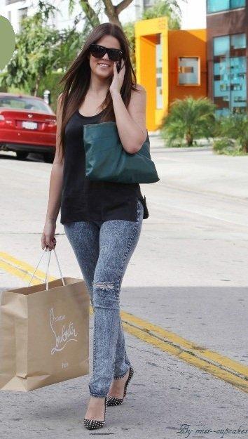 Le look de la semaine (Khloe Kardashian)
