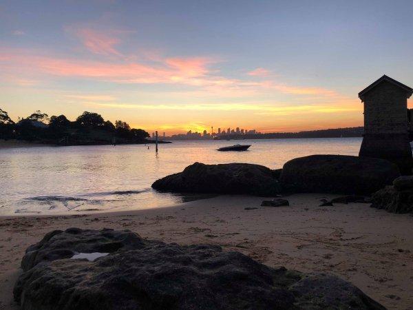 Couché de soleil à Watson Bay
