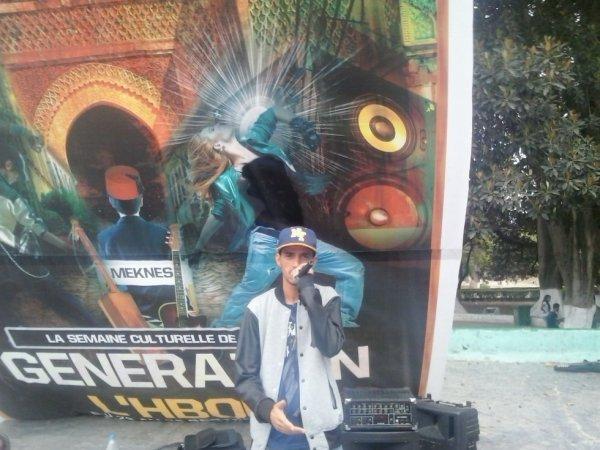 HICHAM aka SLAM à la semaine culturelle de MEKNES génération l'hboul