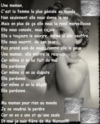 Un Petit Poème Pour Ma Maman Manouchespagnole81