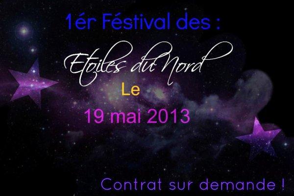 notre festival le 19 mai 2013  ( les étoiles du nord de Dieppe )