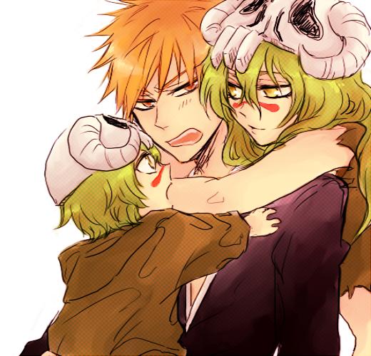 Ichigo and Nel (Son todos lindos ) <3