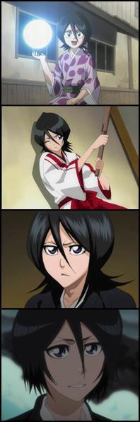 Evolucion de Rukia ..