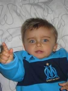 Mon filleul Léo ( petit supporter de l'om )