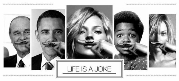 The life is a Joke