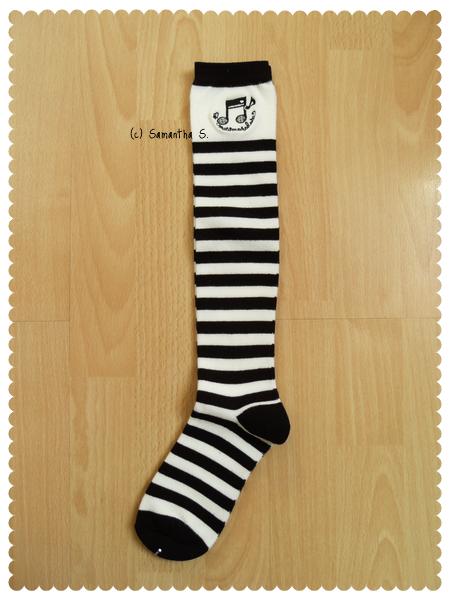 Musical Stripes (white/black)