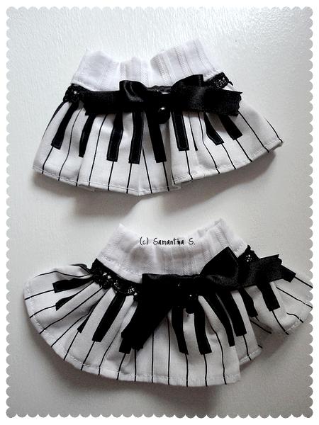 Piano Wristcuffs