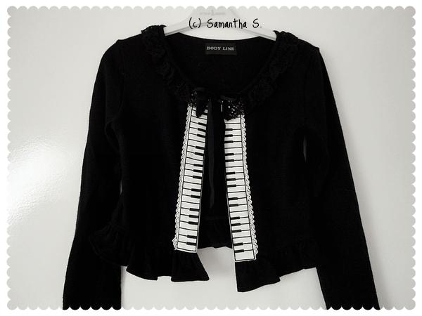 Keyboard Cardigan (black)