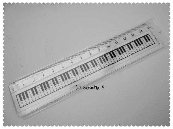 Keyboard Ruler