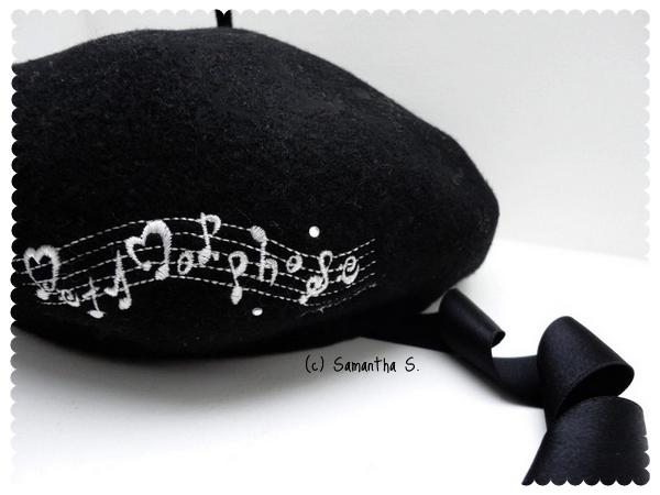 Metamorphose logo beret