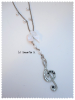 Tremble Clef necklace