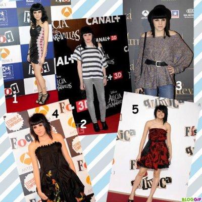Quel tenue préférez-vous ?