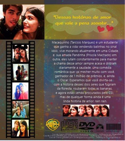 Nosso filme, nossa história de amor...