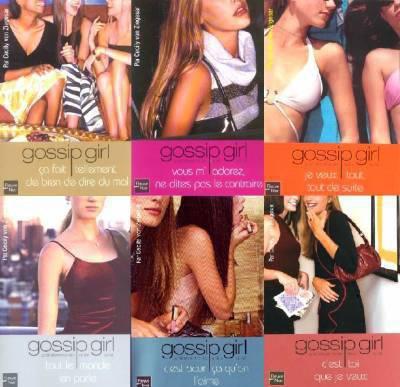 Gossip  Girl, Les Livres