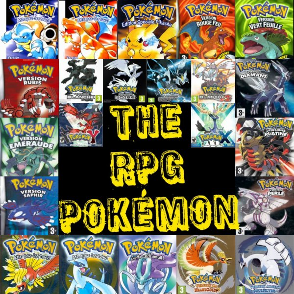 The RPG Pokémon