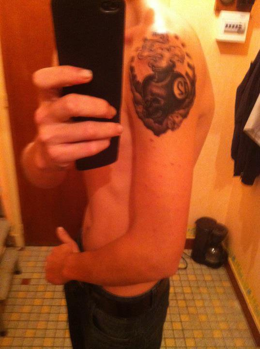mon deuxieme tatoo