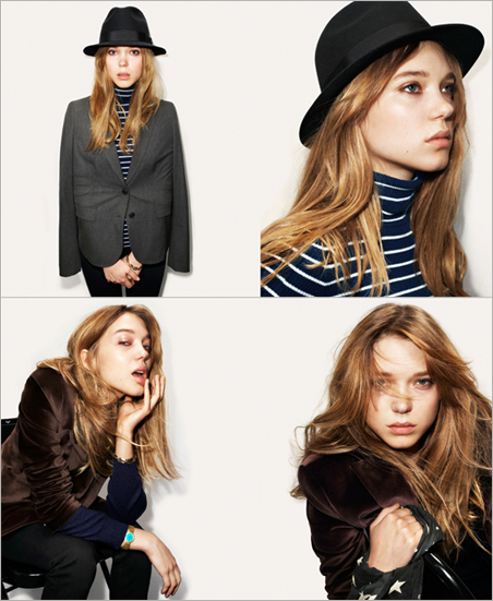 LÉA OTHER PROJECT Advirtising Campaign : Prada Candy / Levi's / American Apparel / Uniqlo