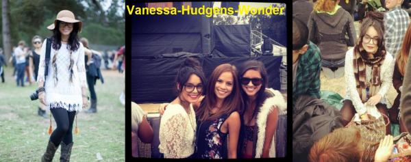 Look de Vanessa Hudgens : Au Outside Lands Festival