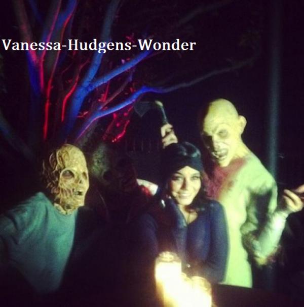 Vanessa Hudgens : Déjà prête pour sa soirée d'Halloween