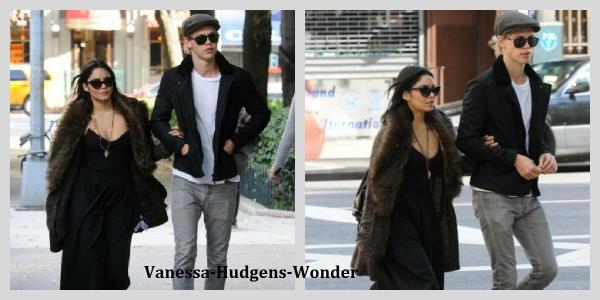 Look de Vanessa Hudgens : En manteau de fourrure et santiags !