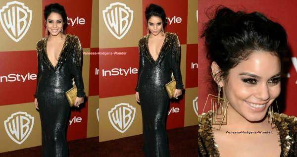 Look de Vanessa Hudgens : Canon pour l'after party des Golden Globe Awards 2013