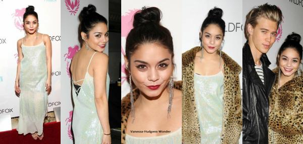 Look de Vanessa Hudgens : Très en beauté pour le défilé de mode Wildfox !