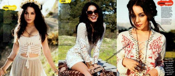 Vanessa Hudgens : Trop sexy pour le numéro d'avril de Cosmopolitan