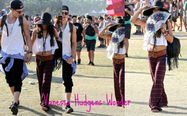 Look de Vanessa Hudgens : Sexy hippie pour le deuxième round du festival Coachella !