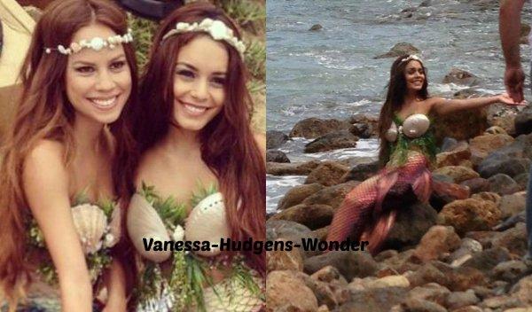 Quand il s'agit de mode, Vanessa Hudgens nous réserve bien des surprises. Cette fois-ci, la belle se déguise en sirène pour un photoshoot très sexy