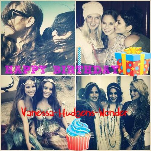 Aujourd'hui c'est l'anniversaire de Vanessa Hudgens , 25 Ans déjà ;-)