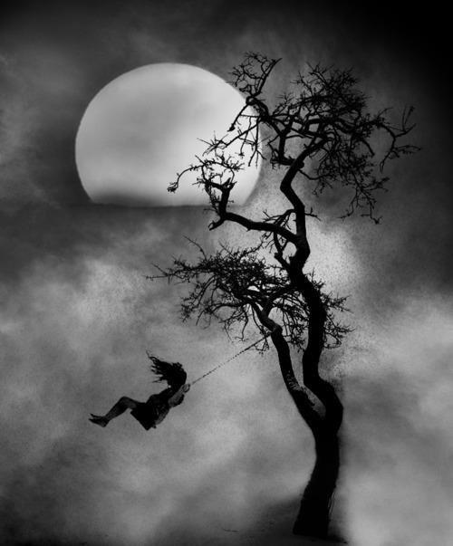 lune sombre