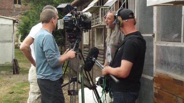 reportage de la télévision Belge