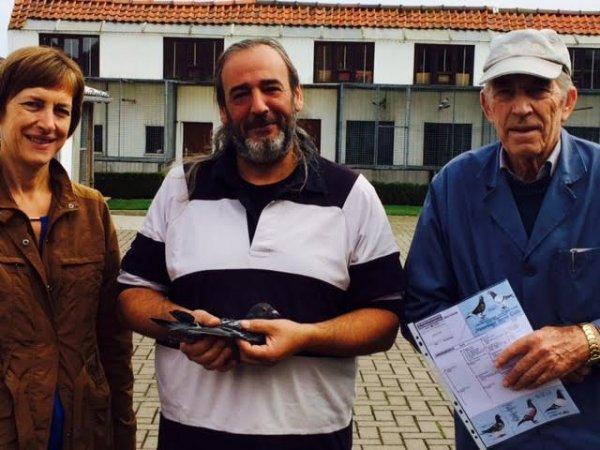 Visite chez K Meulemans et G De Cornink avec mon ami Mickael parti 1