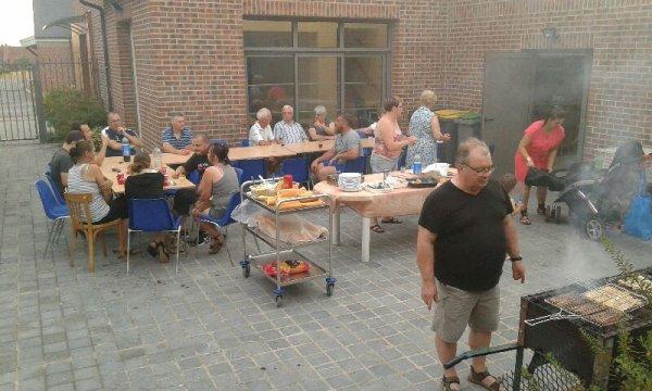 Barbecue de fin d'année à la société de Fontaine Notre Dame