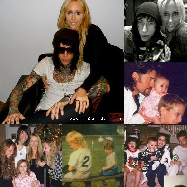 . Photos personnelles de Trace & sa famille dont des photos de Trace jeune..