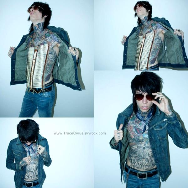 . De nouvelles photos du shoot pour la marque de vêtements de Trace. Tu aimes ?.