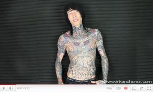 .  11/1O/2O1O Trace à réalisé une interview pour le site de tatouages Ink&Honor...