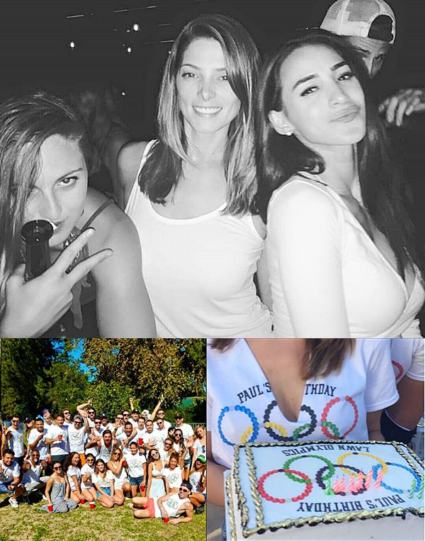 .  06.09.2015 |  Ashley a fêté dignement l'anniversaire de son compagnon Paul avec leurs amies.  + La fête a duré tout le weekend non stop. La belle semble s'être bien amusé.  .