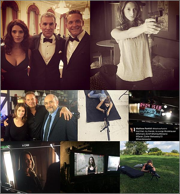 .  2015 |  Découvrez des images et un interview du tournage de 'Rogue' par Ashley et d'autres.  + La série a l'air de bouger, j'ai hâte de voir le résultat. Et vous ?  .