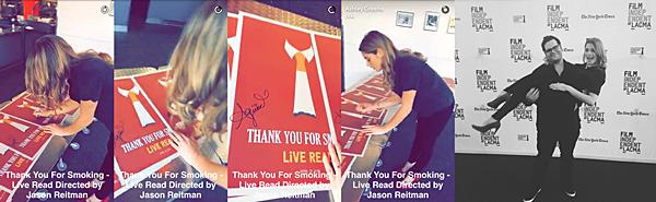 .  21.04.2016 |  Ashley au Film Independant au LACMA qui présente le Live Read à Los Angeles.  Ashley s'est rendue à cet événement où elle a pu lire un livre avec d'autres acteurs de 'Rogue'. Toujours aussi souriante, la belle a pris très au sérieux sa lecture et a même partagé avec nous une vidéo Snapchat où elle signe le poster de l'événement ainsi qu'une photo Instagram ! Le même jour, la belle s'est rendue à son magasin favoris pour faire quelques achats dans une tenue simple mais très jolie néanmoins.   .