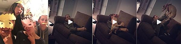 .  29 & 30.08.2016 |  Ashley commence à être de retour sur les réseaux sociaux ! Miss Greene fête son grand retour sur les réseaux sociaux (on l'espère) avec une photo d'elle et ses amies postée par son amie Bronwen (elles étaient au park Waterworks à Vancouver). Découvrez également une vidéo de son amie Rhiannon chantant une comptine apparemment basique mais ne connaissant pas les paroles ! Ashley rigole alors gentiment d'elle sur la vidéo ! Au passage, on voit Rosie ou Ralph qui vient faire des câlins aux deux filles ;)   .
