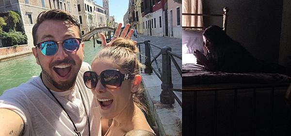.  05 & 06.09.2016 |  Ashley célèbre l'anniversaire de Paul à Venise, en Italie.  Le 05 septembre, c'était l'anniversaire de Paul Khoury, le chéri d'Ashley. C'est donc heureuse que la belle a posté cette superbe photo de son chéri et elle à Venise et lui a souhaité un joyeux anniversaire. Le lendemain, la belle était apparemment de retour sur le tournage de Rogue en compagnie de sa co-star Eve Harlow.   .
