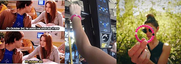 .  03 & 04.10.2016 |  Ashley fait de la promo pour livelokaï sur Instagram ! Bon, Ashley semble avoir oublié l'existence de son compte Snapchat mais pas pour Instagram et tant mieux pour nous ! Le 03.10, elle nous a posté deux photos dont une à la salle de gym comme toujours et sans oublier son bracelet livelokaï pour soutenir les recherches contre le cancer du sein. Sur la troisième photo, posté le 04.10, Ashley pose avec son bracelet et dit que ce dernier est son symbole pour supporter et espérer qu'un jour on trouve un moyen de guérir ce cancer.   .