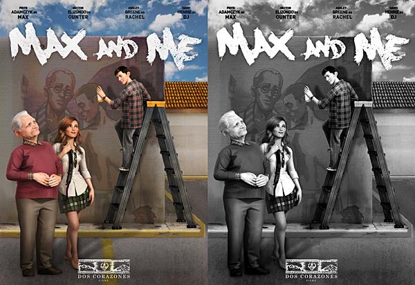 .  2017 |  Découvrez le poster promotionnel de Max & Me, dessin-animé pour laquelle Ashley prête sa voix. Rappelons que le dessin-animé sort en 2017, et est en production depuis 2015. Enfin, Ashley prête sa voix au personnage féminin nommé Rachel.  .