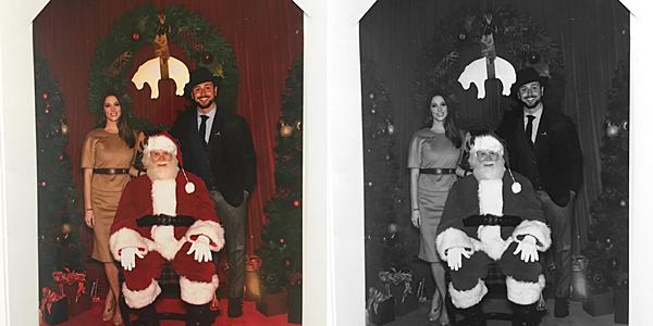 .  04.12.2016 |  Ashley à eu droit à une jolie carte pour Noël par la soirée Brooks Brothers à Beverly Hills ! Miss Greene nous a posté une jolie photo du Père Noël et son chéri Paul lors de leur soirée de la veille sur son compte Instagram personnel. En légende, elle a remercié les hôtes de la soirée disant avoir passé un super bon moment et on veut bien la croire. Le lieu avait l'air super joli et notre couple aussi ! :)  .