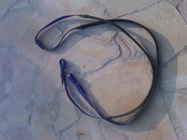 Filet violet de TREC taille cheval :)  VENDU !!!